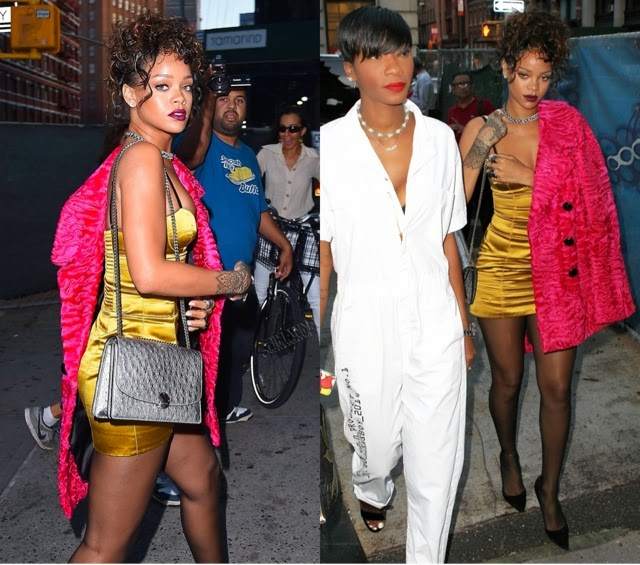 Rihanna in Marc Jacobs