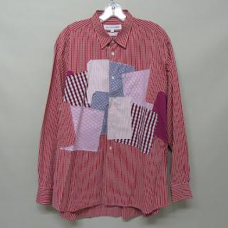 Comme des Garcon Patchwork Shirt