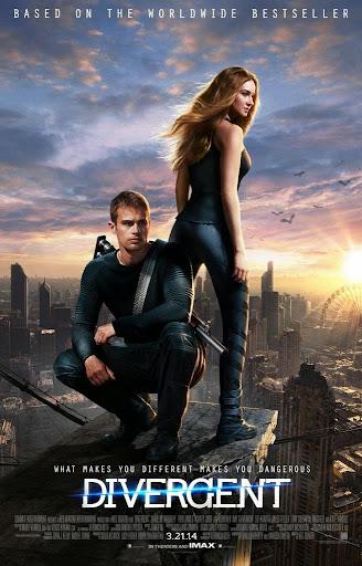 H Τριλογία της Απόκλισης: Οι Διαφορετικοί Divergent Poster