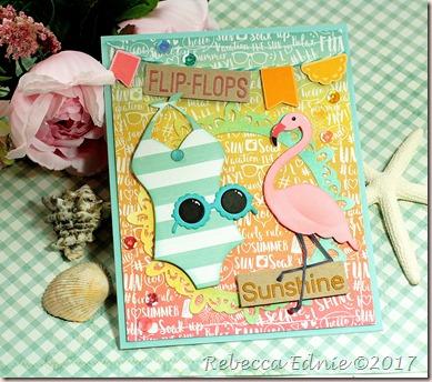 c4c swimsuit flamingo