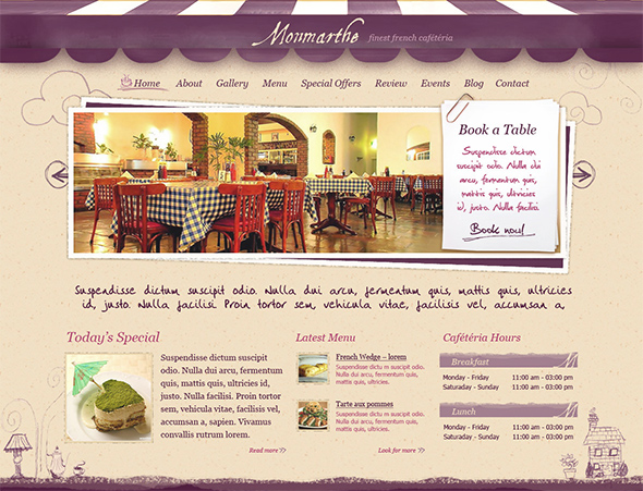 Monmarthe Vintage WordPress Theme