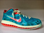 "Nike LeBron 9 Low - ""LeBronold Palmer"" Alternate PE"