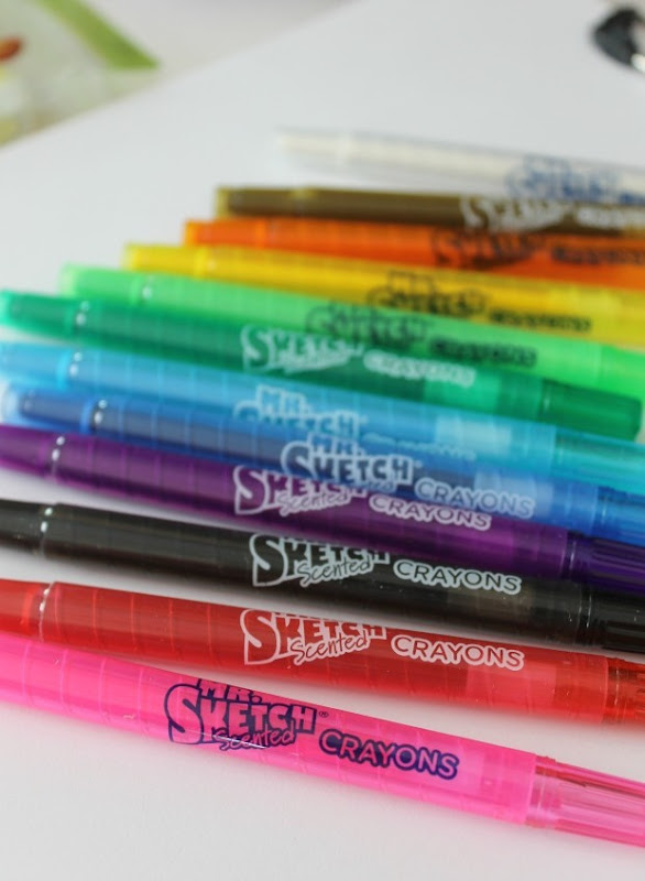 Mr. Sketch Crayons