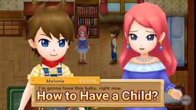Light of Hope yakni salah satu tujuan final pemain sesudah menikah Cara Mempunyai Anak di Harvest Moon: Light of Hope