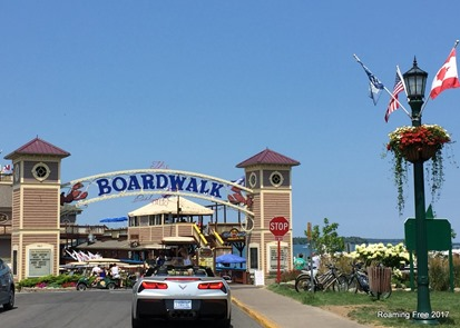 The Boardwalk at Put-in-Bay