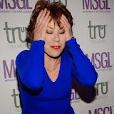WWW.ENTSIMAGES.COM -   Kathy Lette   arriving    at      The MediaSkin Gifting Lounge at Stamp 79 Oxford Street London November 6th 2014                                                 Photo Mobis Photos/OIC 0203 174 1069