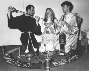 Alex And Maxine Sanders Ritual, Alex Sanders
