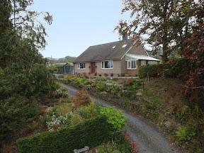 Family bungalow at Llandinam