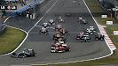 2013 Chinese F1 GP into first corner