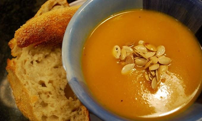 Amazing Curried Butternut Squash Soup Recipe
