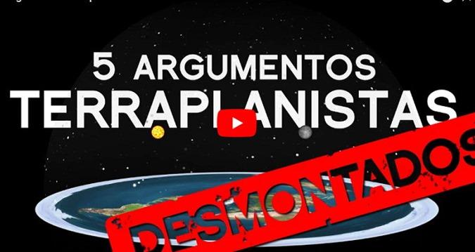 TERRA PLANA 5 ARGUMENTOS DOS TERRAPLANISTAS