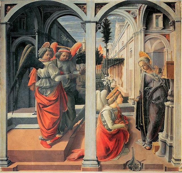 Fra Filippo Lippi - Annunciazione Martelli