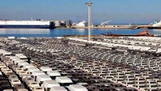 Véhicules: chute de plus de 67% des importations au 1er semestre 2016