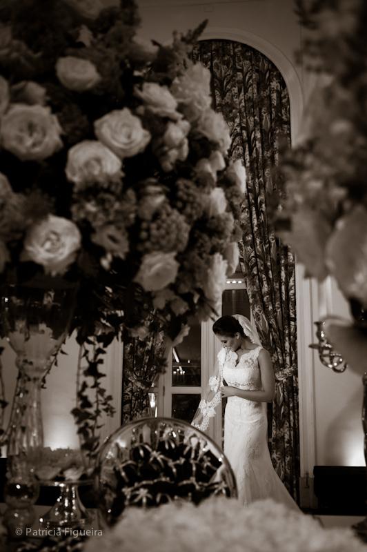 Foto de casamento 0388pb de Natalia e Fabio. Marcações: 30/09/2011, Casamento Natalia e Fabio, Rio de Janeiro.