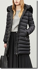 Burberry Hooded Shell-Down Puffer Coat