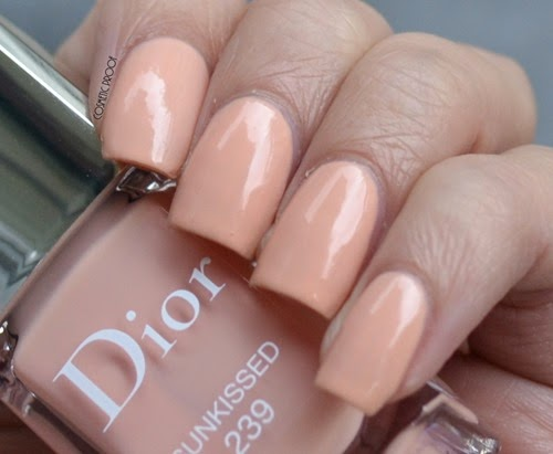 Dior Vernis - Sunkissed 239 Tie Dye Review Swatch (2)