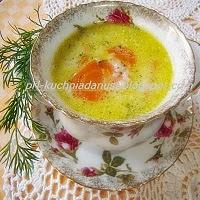 zupa marchewkowo koperkowa