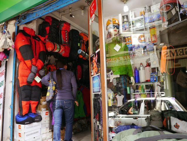 達人帶路-環遊世界-尼泊爾-戶外用品
