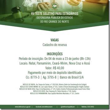 VII SELECAO ESTAGIO - data final