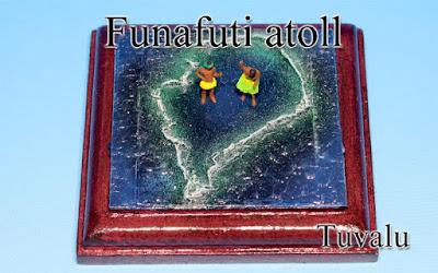 Funafuti atoll -Tuvalu -