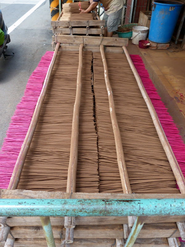 fabrique de bâtons d'encens