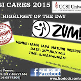 UCSI CARES 2015@Sama Jaya Nature Reserve 25072015