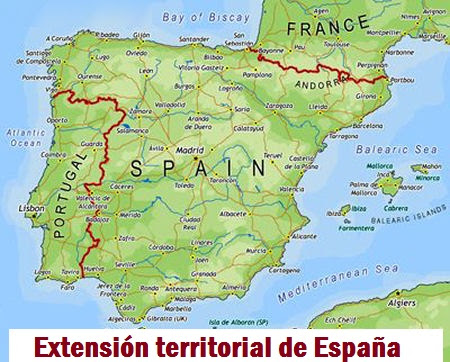 Extensión territorial de España