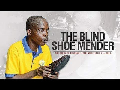 Endurance Otobi The Blind Shoe Mender.