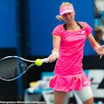Denisa Allertova in action at the 2016 Australian Open