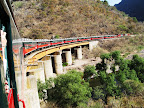 The great 180 turn over Rio Urique at Temoris.