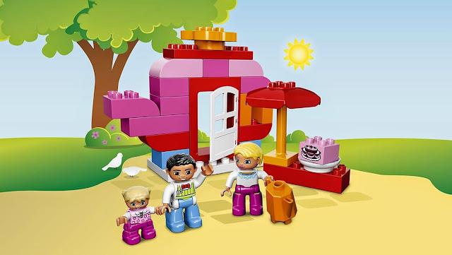 Lego Duplo 10587 Quán Cafe giải khát giúp bé xây dựng cho mình những câu chuyện thật thú vị