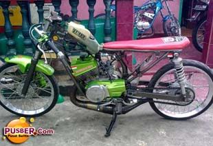 Modifikasi Motor Drag RX King - pusber.com