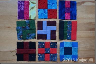 Quilt 365 - 1 bis 9 - klein