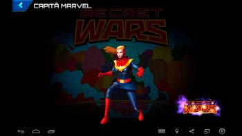 Capitã Marvel - Guerras Secretas: Capitã Marvel e a Tropa Carol