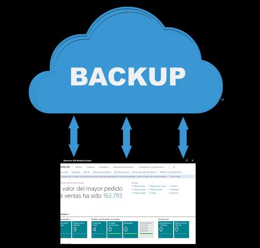 Como descargar una copia de seguridad de Business Central Cloud