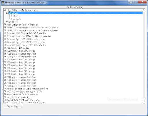 Unknown Device Tool 1.5.2 RC 2
