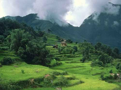 непал красота