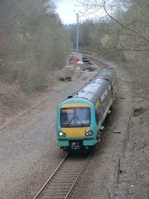 CIMG6252 A London Bridge train leaving Cowden station