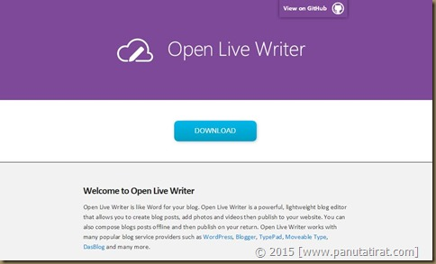 20151223 Open Live Writer