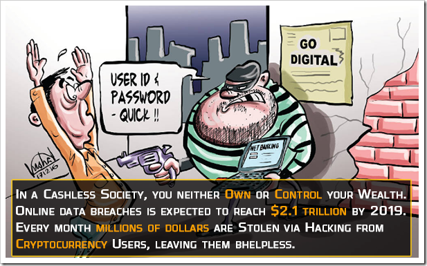 cashless society is more vulnerable to cyber crime