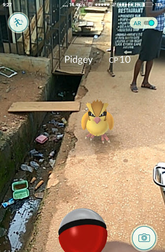 Here's How Playing Pokémon Go In Nigeria would Look Like 1
