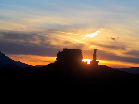 Sunset buttes