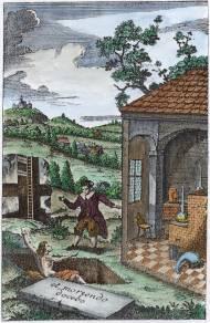 From J F Henkel Unterricht Von Der Mineralogie Dresden 1747, Alchemical And Hermetic Emblems 2