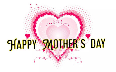 Two hearts with message, Mothers day quotes.