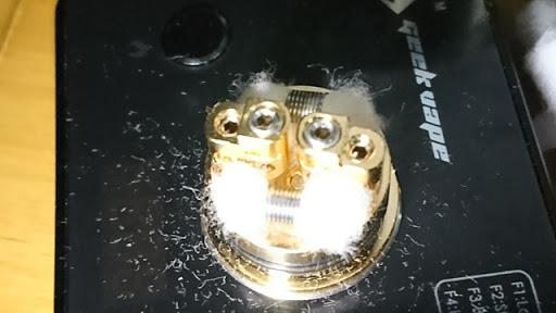 DSC 2117 thumb%25255B2%25255D - 【RDA】「Geekvape Peerless RDA」レビュー。24mm爆煙大型コイルビルド可能な高級感あふれるドリッパー!!ボトムフィード対応【ギークベープ/ビルド/電子タバコ】