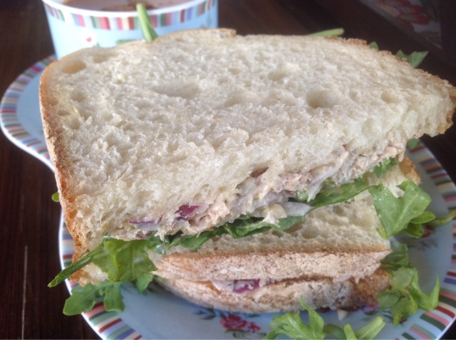how to make chicken salad sandwich at home