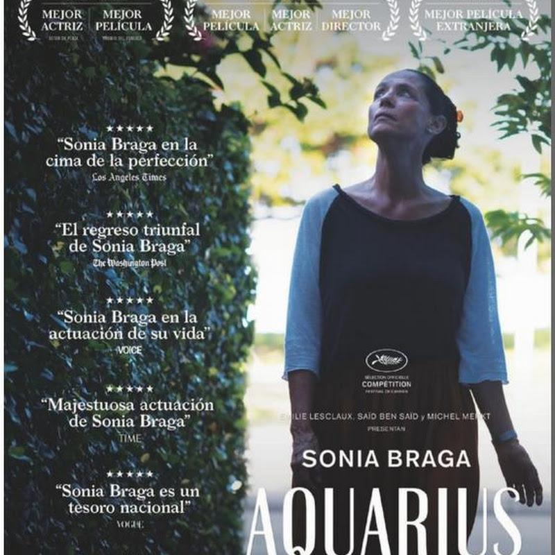 Aquarius fecha de estreno argentina poster latino afiche for Espectaculos argentina 2016