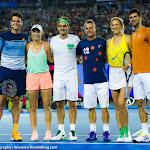 Caroline Wozniacki, Victoria Azarenka, Roger Federer, Milos Raonic, Novak Djokovic, Lleyton Hewitt - 2016 Australian Open -D3M_4246-2.jpg