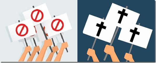 boicote x evangelho