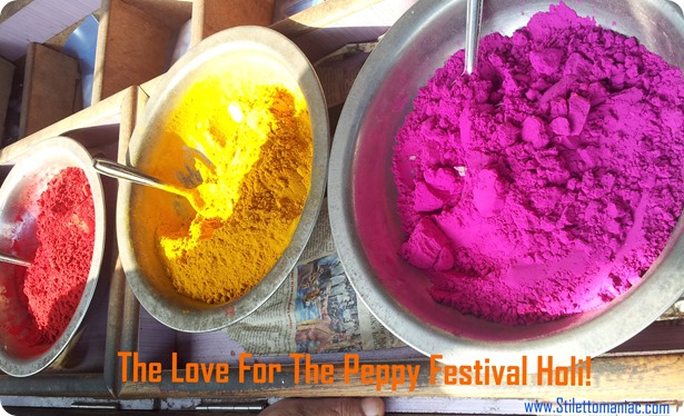 The Love For The Peppy Festival Holi!